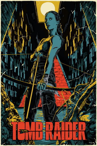 """Tomb Raider"" by Francesco Francavilla"