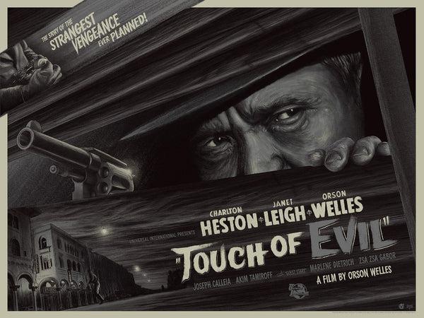 """Touch of Evil"" (Metallic Variant) by Mike Saputo"