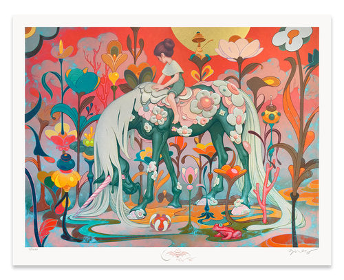 """Traveler"" by James Jean"