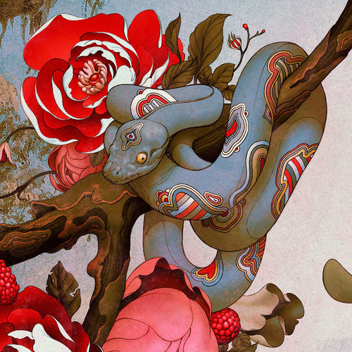 """Udon II"" (Detail 1) by James Jean"