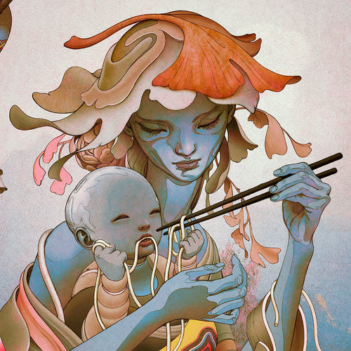 """Udon II"" (Detail 2) by James Jean"
