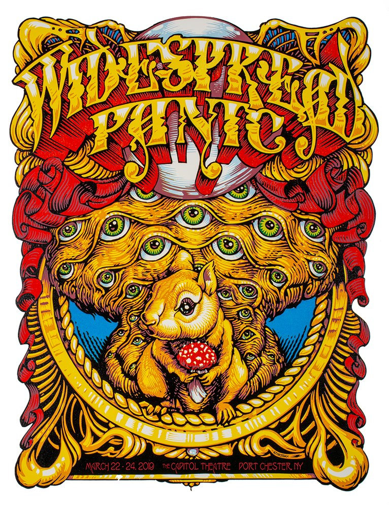 """Widespread Panic Portchester 2019"" by AJ Masthay"