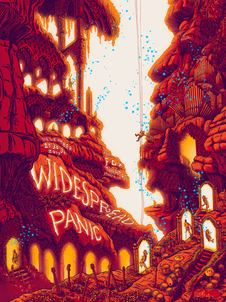 """Widespread Panic Atlanta 2017"" by James Flames"