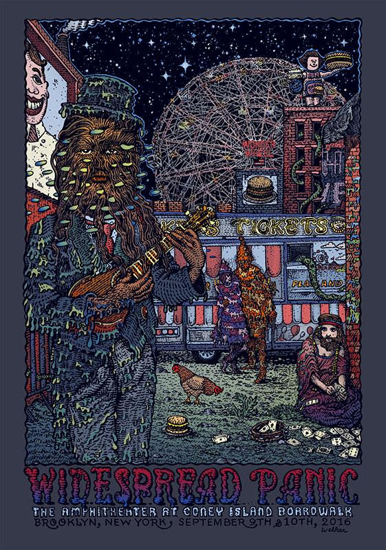"""Widespread Panic Brooklyn 2016"" by David Welker"