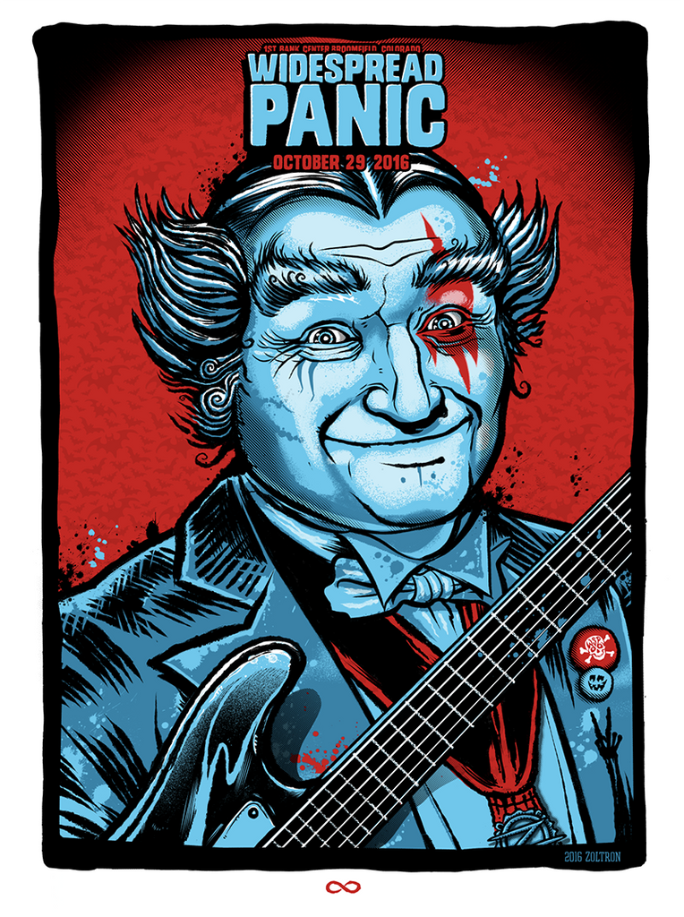 """Widespread Panic Halloween 2016"" Night 2 by Zoltron"