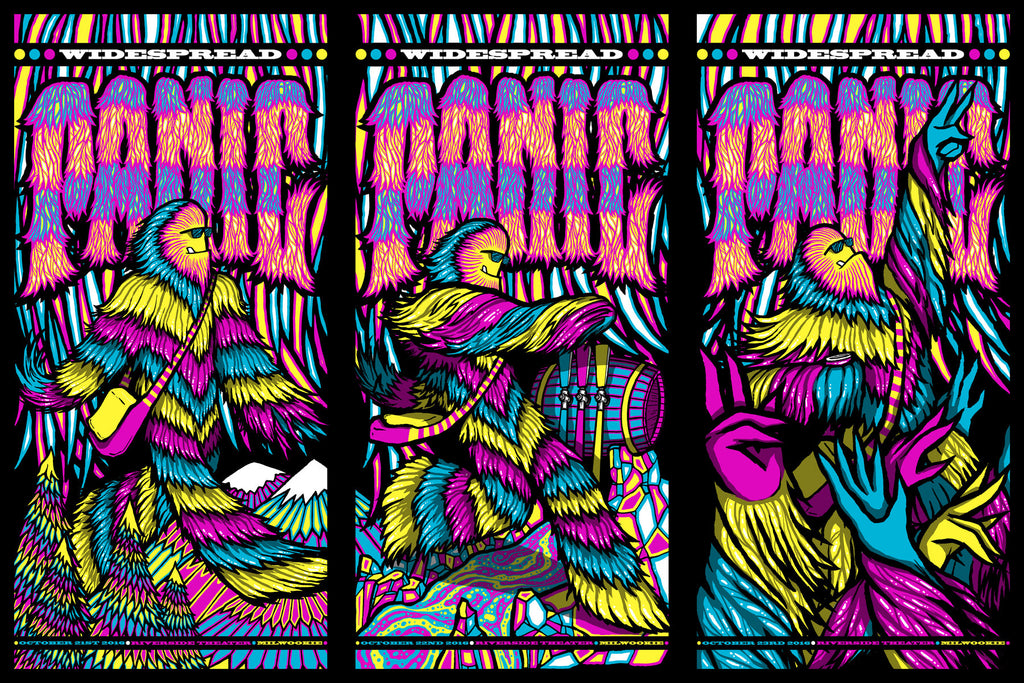 """Widespread Panic Milwaukee 2016"" by Brad Klausen"