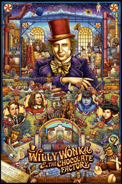 """Willy Wonka & the Chocolate Factory"" by Ise Ananphada"