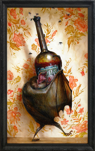 """Wino"" (Framed Edition) by Esao Andrews"