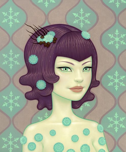 """Winter"" by Tara McPherson"