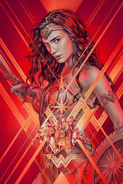 """Wonder Woman"" by Martin Ansin"