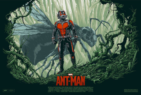 "Ken Taylor - ""Ant-Man"" 1st Edition - 2016"