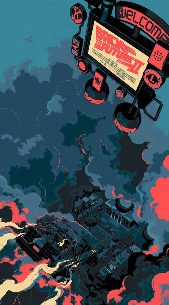 "Matt Taylor - ""Back To The Future Part II"" Variant - 2015"