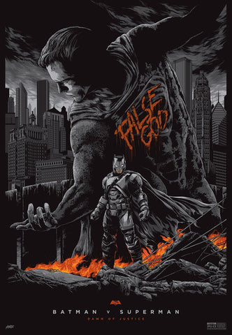 "Ken Taylor - ""Batman v Superman: Dawn of Justice"" Variant - 2016"
