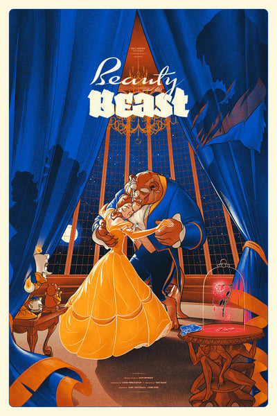 "Martin Ansin - ""Beauty and the Beast"" 1st Edition - 2014"