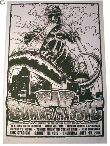 "Jeff Wood & Johnny Thief - ""Big Summer Classic Sauget"" Blackline Variant - 2005"