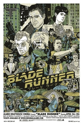 "Tyler Stout - ""Blade Runner"" 1st Edition - 2010"
