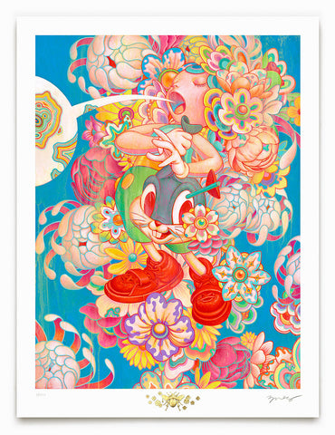 "James Jean - ""Bouquet"" 1st Edition - 2017"