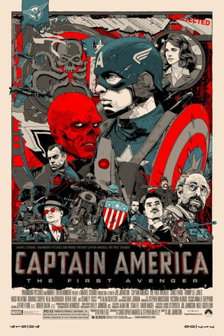 "Tyler Stout - ""Captain America"" 1st Edition - 2011"