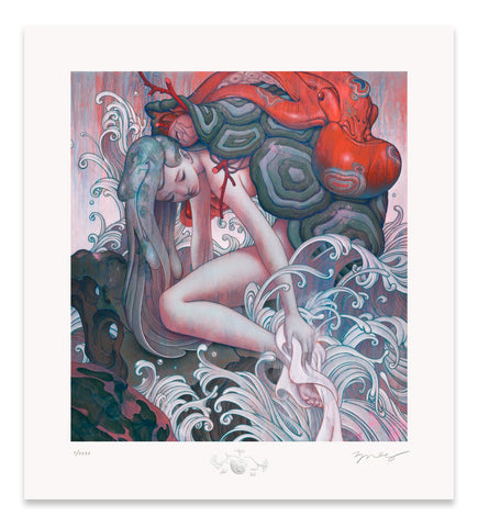 "James Jean - ""Chelone"" 1st Edition - 2019"