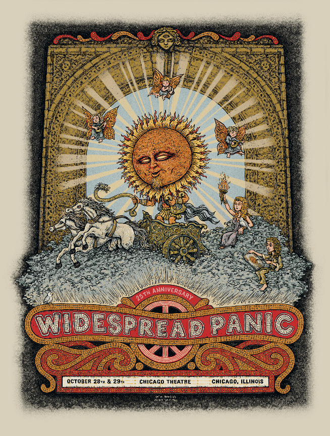 "Marq Spusta - ""Widespread Panic Chicago"" 1st Edition - 2011"