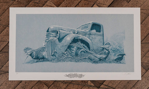 "Aaron Horkey - ""Colossus Aground"" 1st Edition - 2018"