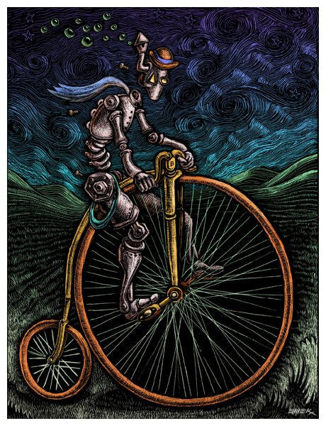 "EMEK - ""Cybercycle"" 1st Edition - 2009"