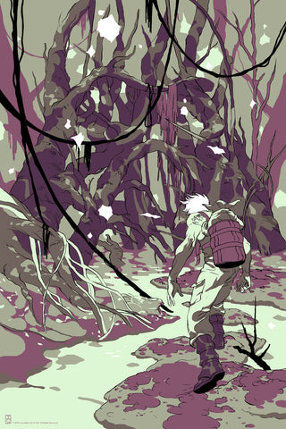 "Tomer Hanuka - ""Father: Encounter on Dagobah"" 1st Edition - 2010"