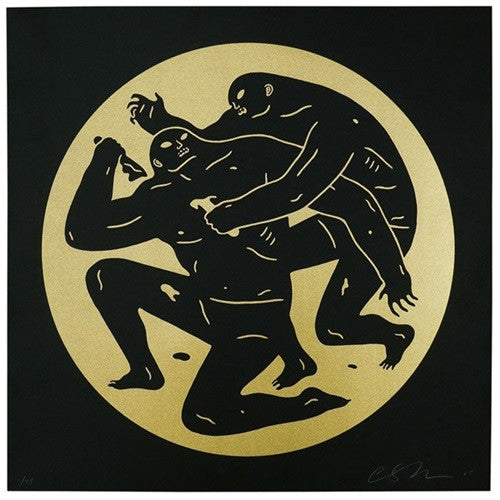 "Cleon Peterson - ""Destroying the Weak 1"" Gold Edition - 2015"