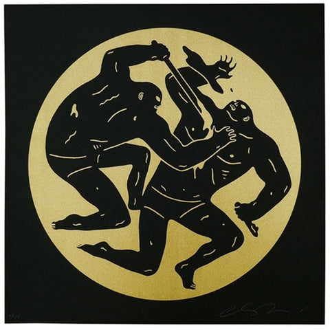 "Cleon Peterson - ""Destroying the Weak 2"" Gold Edition - 2015"