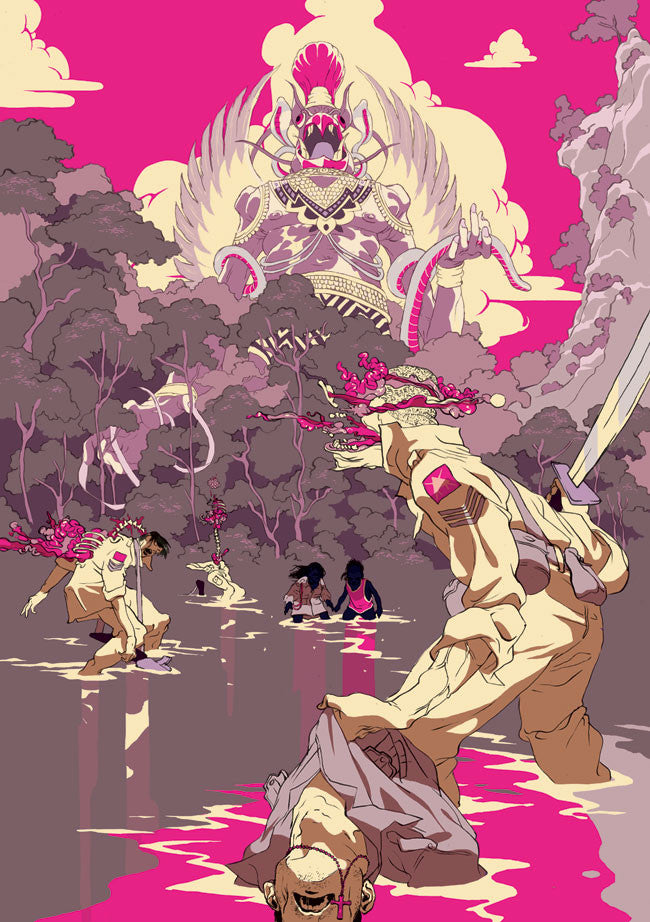 "Tomer Hanuka - ""From God's Mountain IV"" 1st Edition - 2011"