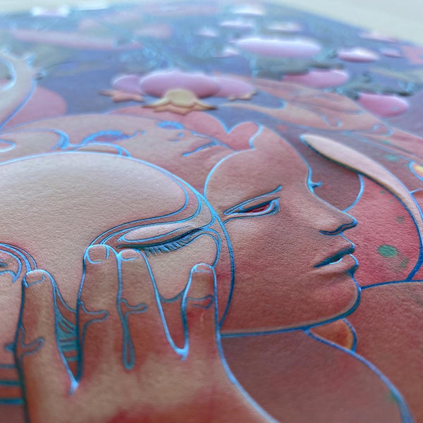 "James Jean - ""Eden"" 1st Edition - 2020 (Detail 2)"