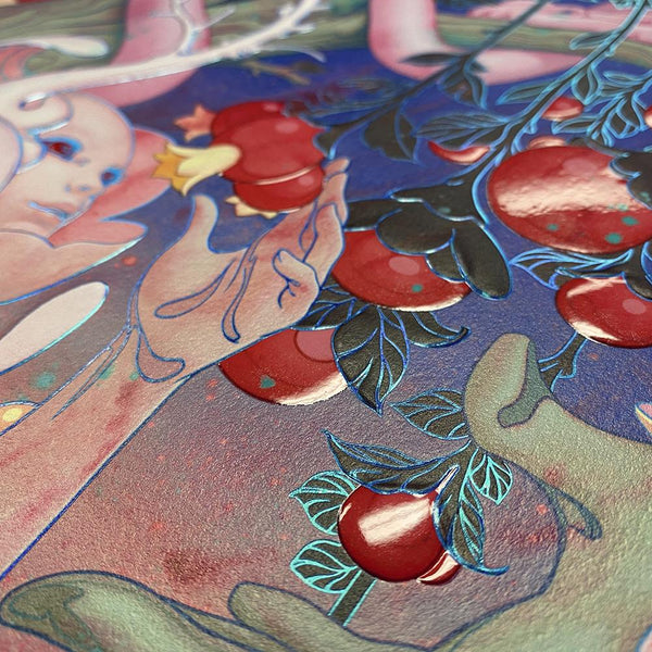 "James Jean - ""Eden"" 1st Edition - 2020 (Detail 3)"