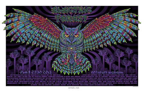 "EMEK - ""Electric Forest Rothbury"" AP Edition - 2013"