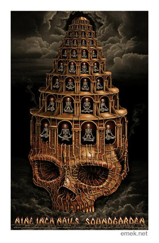 "EMEK - ""NIN Soundgarden Northwest"" Artist Edition - 2014"