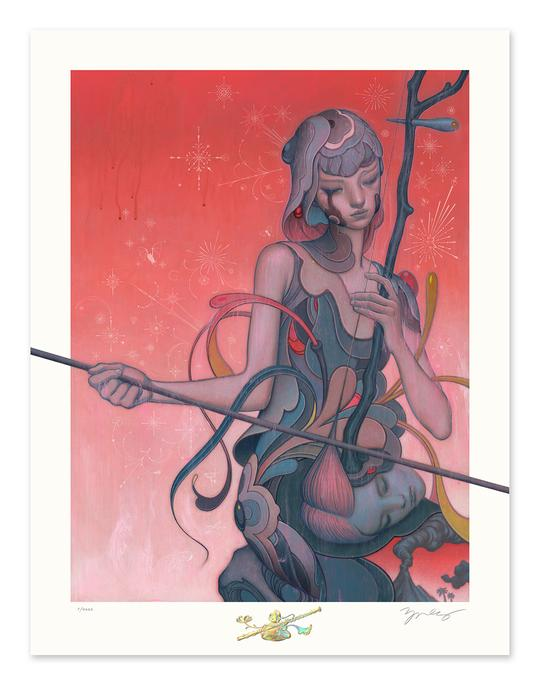 "James Jean - ""Erhu"" 1st Edition - 2019"
