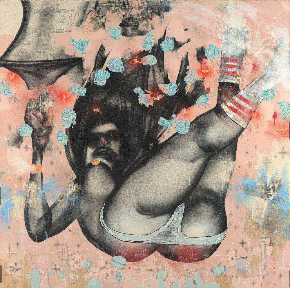 "David Choe - ""Falling For Grace"" 1st Edition - 2008"