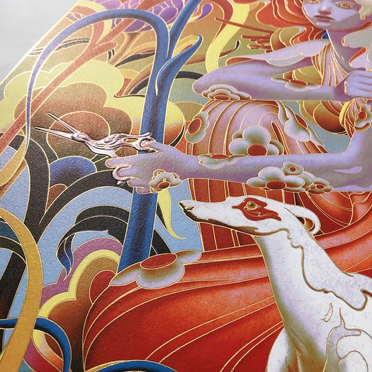 "James Jean - ""Forager"" 1st Edition - 2019 (Detail 1)"