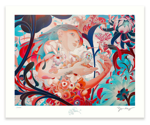 "James Jean - ""Forager III"" 1st Edition - 2020"