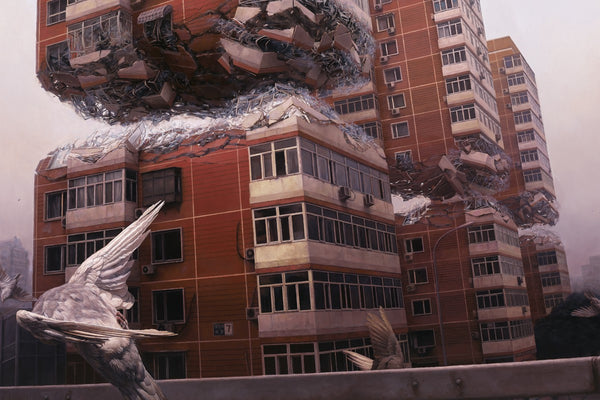 "Jeremy Geddes - ""Fortress"" 1st Edition - 2015 (Detail 1)"