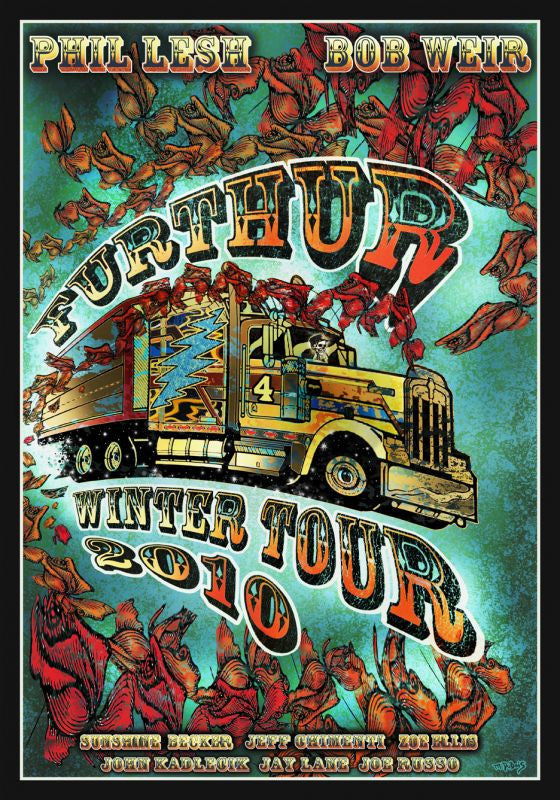 "Mike DuBois - ""Furthur Winter Tour"" 1st Edition - 2010"