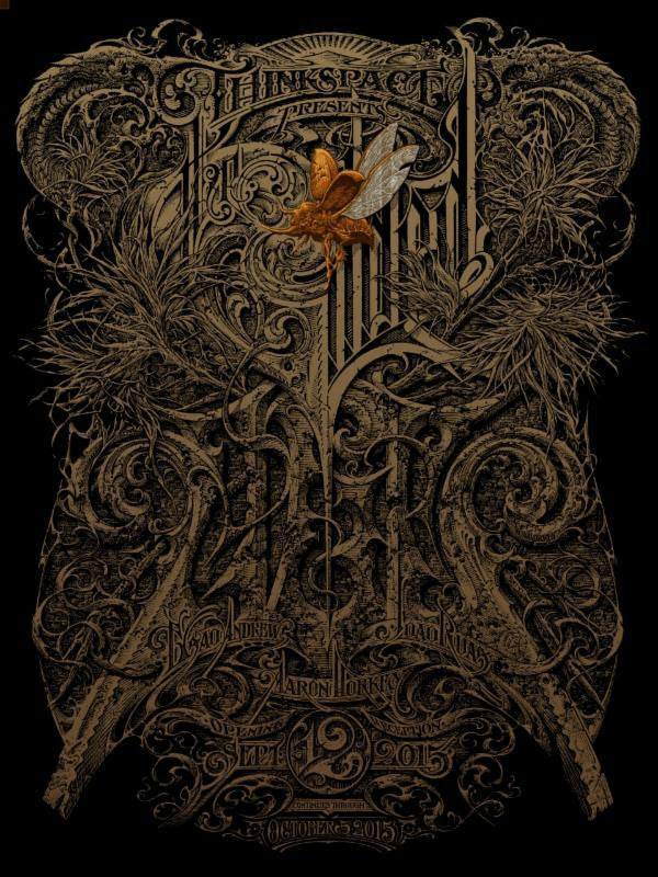 "Aaron Horkey - ""The Gilded Age"" 1st Edition - 2015"