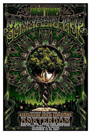 "Jeff Wood - ""High Times Cannabis Cup"" 1st Edition - 2007"