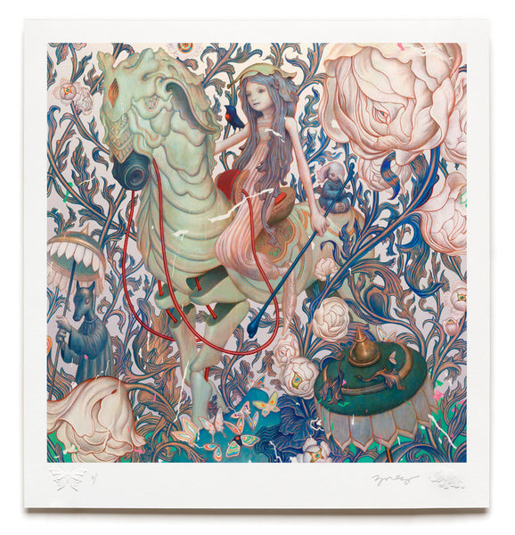 "James Jean - ""Horse IV"" 1st Edition - 2015"