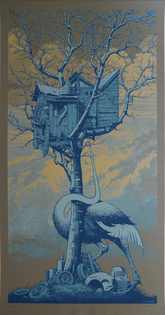 "Aaron Horkey - ""Hurricane Relief"" 1st Edition - 2005"