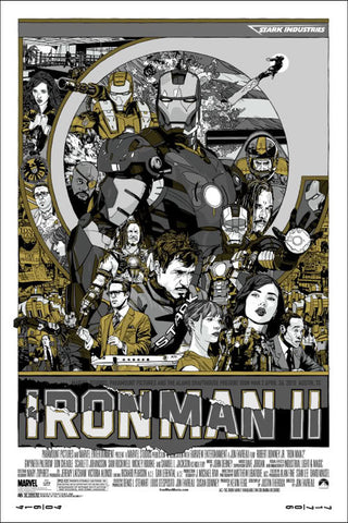 "Tyler Stout - ""Iron Man 2"" Signed Variant - 2010"