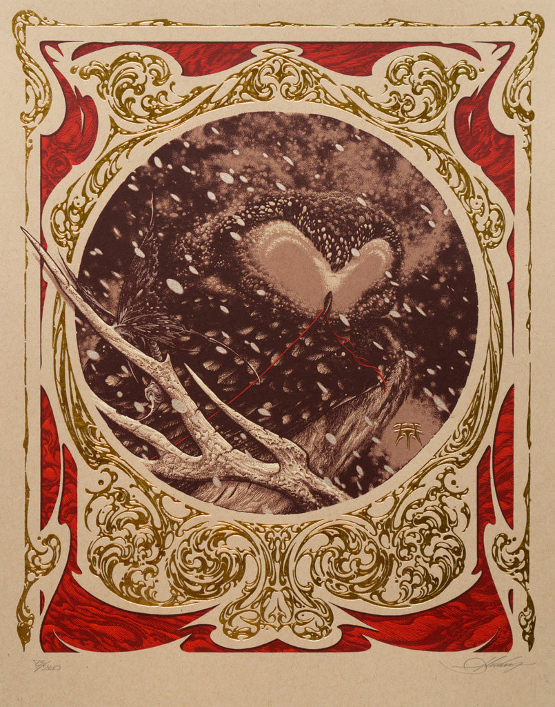 "Aaron Horkey - ""Irruption"" 1st Edition - 2015"