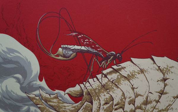 "Aaron Horkey - ""Isis Minneapolis"" Red Edition - 2007"