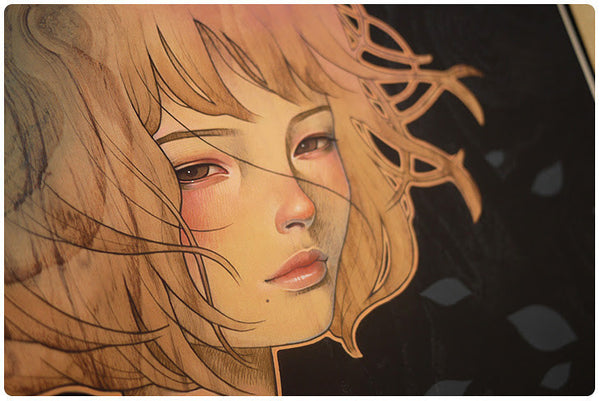 "Audrey Kawasaki - ""It Was You"" 1st Edition - 2015 (Detail 1)"