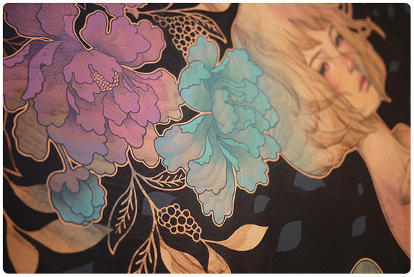 "Audrey Kawasaki - ""It Was You"" 1st Edition - 2015 (Detail 2)"