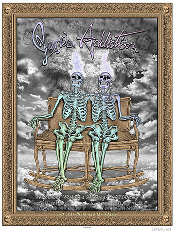 "EMEK - ""Jane's Addiction Northwest"" 1st Edition - 2015"